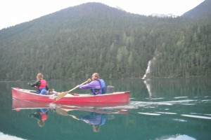 Paddling the Bowron Lakes